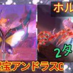 【メギド72】専用霊宝アンドラスC列化でホルンVH2ターンで屠る
