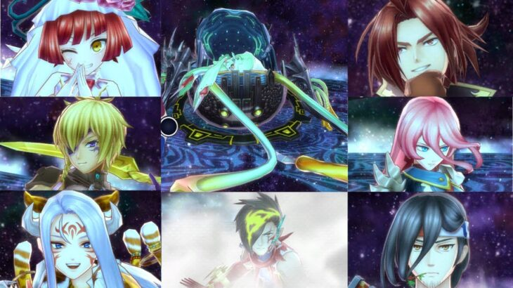 【メギド72】変貌貝姫リリィを色んなキャラで2T撃破~ラッシュ編その1~
