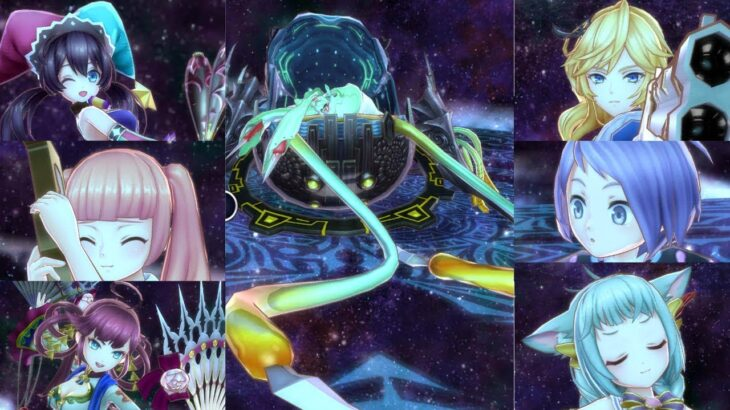 【メギド72】変貌貝姫リリィを色んなキャラで2T撃破~ラッシュ編その3~